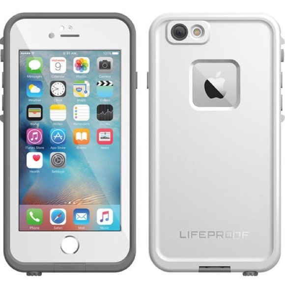save off 3bdba a23be white iphone 6+ lifeproof case